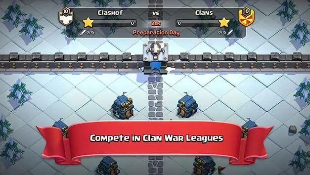تحميل كلاش اوف كلانس مهكرة 2021 اخر اصدار 13.675.22 clash of clans apk
